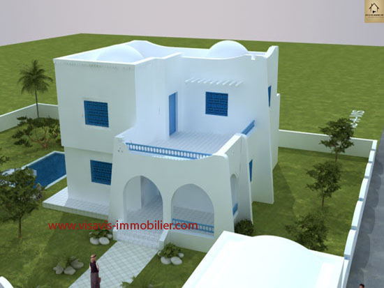 Stunning architecture maison tunisienne pictures for Plan cuisine tunisienne