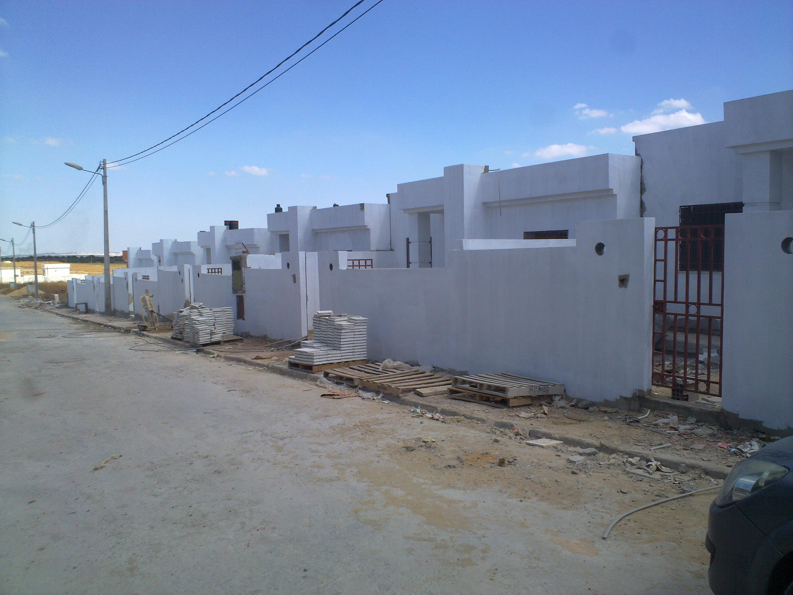 Tunisie annonce terrain a vendre tracteur agricole for Achat maison tunisie